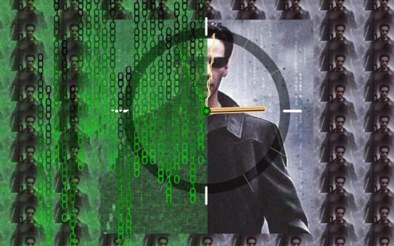 Matrix-Clock-ScreenSaver