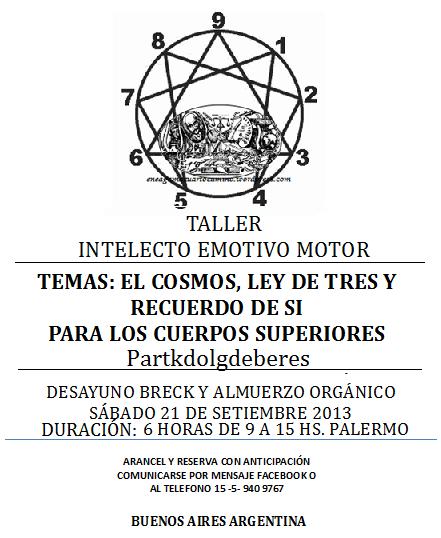 TALLER PRÁCTICO DE ENEAGRAMA